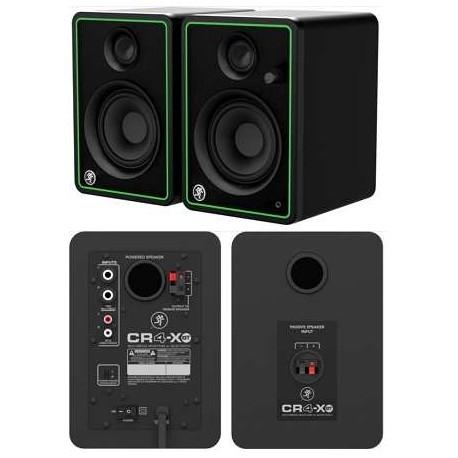 "MACKIE CR4-XBT(coppia) Monitor da studio con woofer da 4"" e bluetooth"