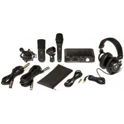 MACKIE Producer Bundle kit con scheda audio,cuffia, n 2 microfoni