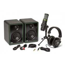 MACKIE CREATOR BUNDLE microfono usb, cuffie e casse monitor