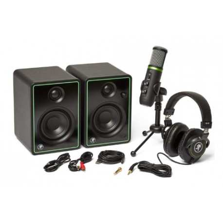 MACKIE CREATOR BUNDLE . microfono usb, cuffie e casse monitor