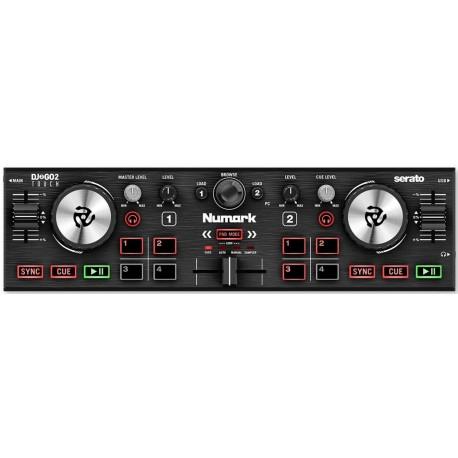 NUMARK DJ2GO2 touch controller per dj con interfaccia audio