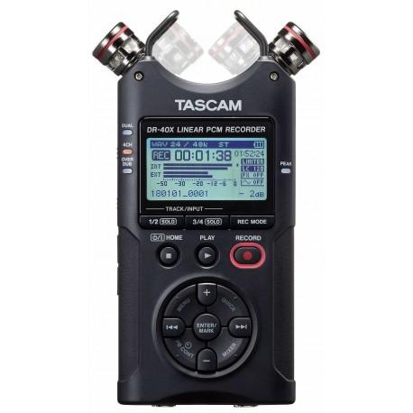 TASCAM DR-40X registratore portatile multi-traccia