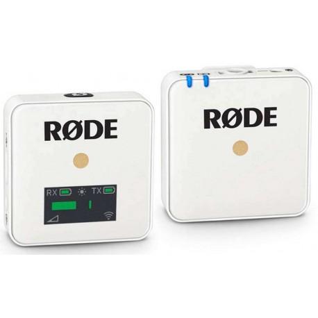 RODE Wireless GO radiomicrofono a clip - white