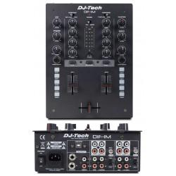 DJ TECH DIF-1M mixer 2 canali con controlli MIDI