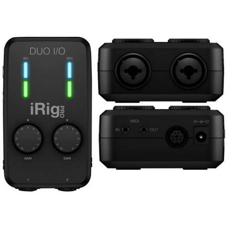 IK MULTIMEDIA iRig Pro Duo interfaccia audio per ios, android, mac e pc.
