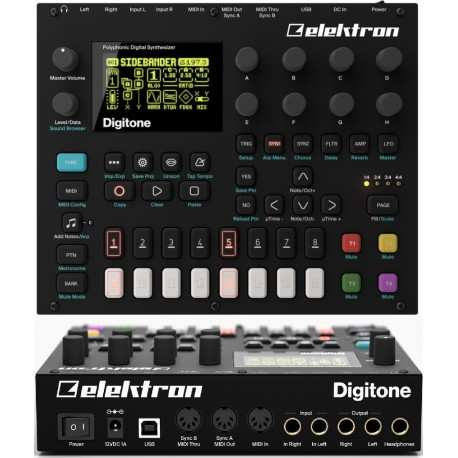 ELEKTRON Digitone synth polifonico digitale a 8 voci