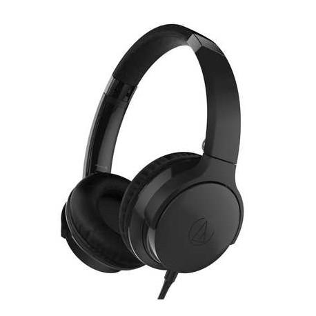 AUDIO TECHNICA ATH-AR3iSBK Black cuffia con microfono