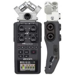 ZOOM H6 Black registratore a 6 tracce con interfaccia usb