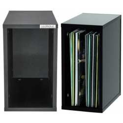 GLORIOUS Record Box 55 Black box in legno per 55 vinili nero