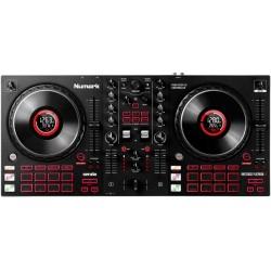 NUMARK MIXTRACK PLATINUM FX USB DJ controller a 4 deck per Serato