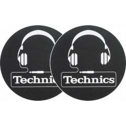 TECHNICS Slipmats Technics Headphones(coppia)