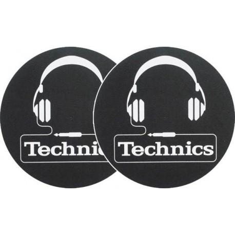 TECHNICS Slipmats Technics Headphones(coppia)