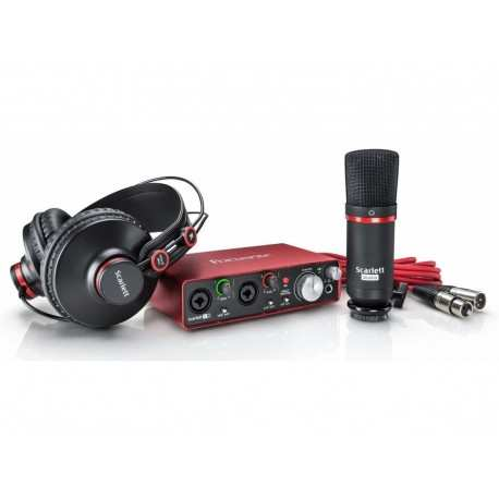 FOCUSRITE Scarlett 2i2 Studio (2nd Generation) kit interfaccia audio 2 in/ 2 out