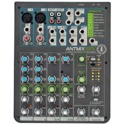 ANT ANTMIX 6FX mixer 6 canali con processori di effetti