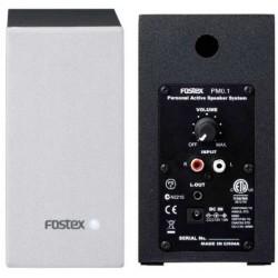 """FOSTEX PM0.1 White (coppia) coppia monitor attivi 2.2"""" 10W bianchi"""