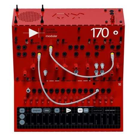 TEENAGE ENGINEERING PO Modular 170 synth modulare con sequencer