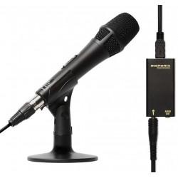 MARANTZ PROFESSIONAL M4U kit per registrazioni vocali (microfono condensatore, cavo, interfaccia USB, supporto da tavolo)