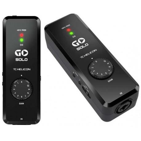 TC HELICON GO Solo interfaccia audio/midi per mac,pc, ios, android