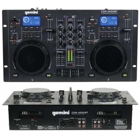 GEMINI CDM 4000 BT media player CD/MP3/USB Bluetooth