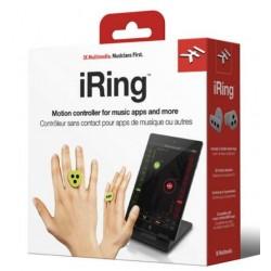 IK MULTIMEDIA iRing Green (coppia) anelli per la rilevazione del movimento PER iPHONE / iPAD / iPOD