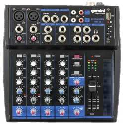 GEMINI GEM 08 USB mixer bluetooth/ usb 8 canali
