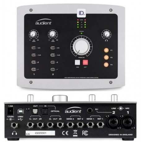 AUDIENT iD22 interfaccia audio 2-in/6-out usb