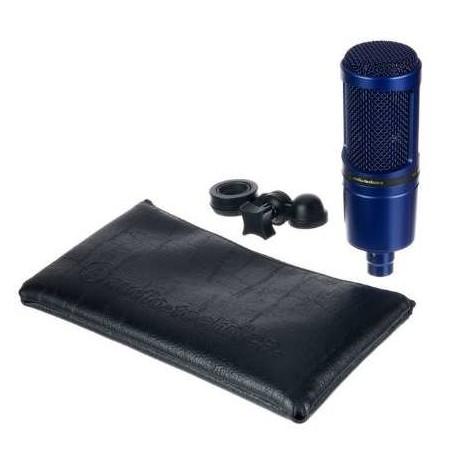 AUDIO TECHNICA AT2020TYO Aiiro microfono a condensatore edizione limitata colore blu indigo