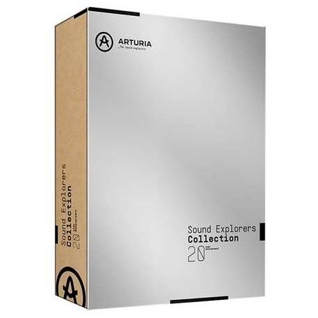 ARTURIA Sound Explorer Collection (boxed) collezione di vst instruments 20° Anniversario
