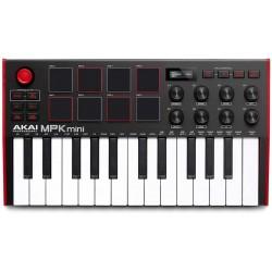 AKAI MPK MINI MKIII USB/ MIDI controller 25 tasti mini