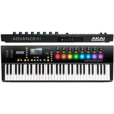 AKAI ADVANCE 61 tastiera/ Usb Midi controller 61 tasti