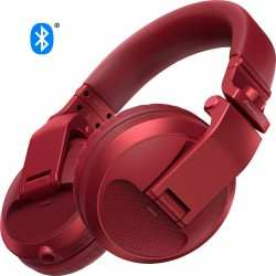 PIONEER HDJ-X5BT-R Cuffie DJ Bluetooth red
