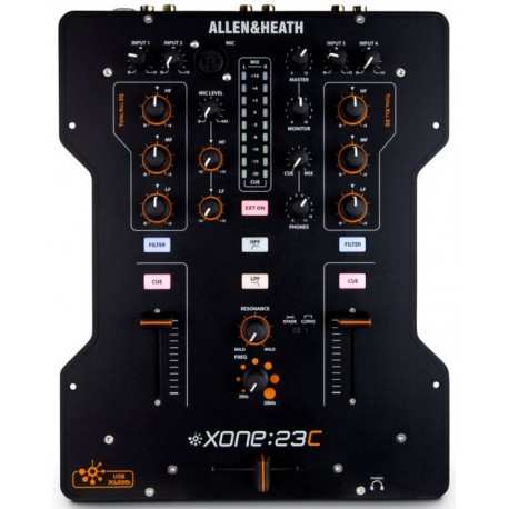 ALLEN & HEATH XONE 23C mixer 2in/2out con scheda audio usb