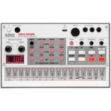 KORG Volca Sample 2 drum machine con campionatore e sequencer