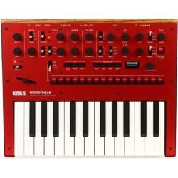 KORG Monologue RD sintetizzatore analagico monofonico 25 tasti - red edition