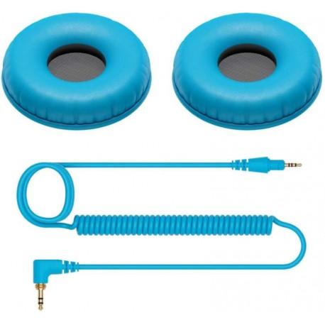 PIONEER DJ HC-CP08 set per personalizzazione cuffie HDJ-CUE1 azzurro