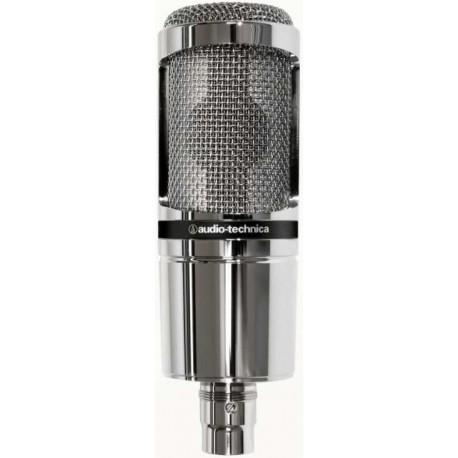 AUDIO TECHNICA AT2020V microfono a condensatore da studio (edizione limitata silver)