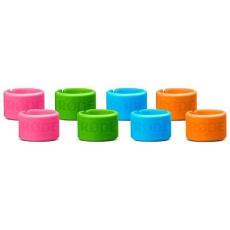 RODE XLR-ID kit 8 anelli colorati per cavi xlr