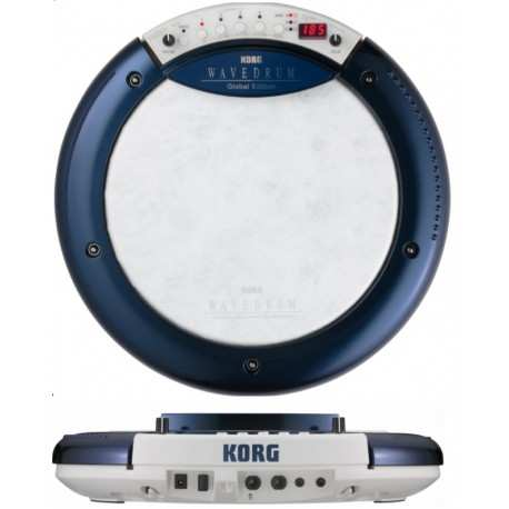 KORG WaveDrum Global Edition sintetizzatore di percussioni dinamico blu