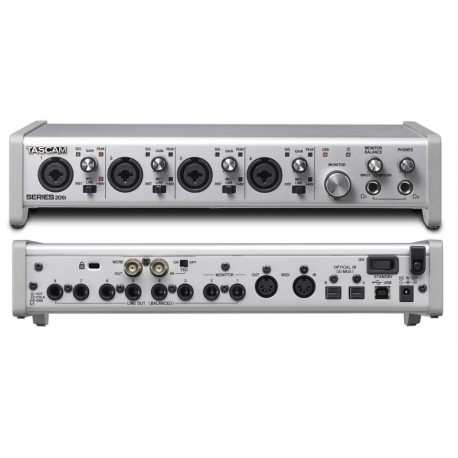 TASCAM SERIES 208i - Interfaccia Audio MIDI/USB 20 In / 8 Out