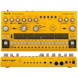 BEHRINGER RD-6-AM Analog Drum Machine - Yellow