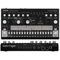 BEHRINGER RD-6-BK Analog Drum Machine - Black