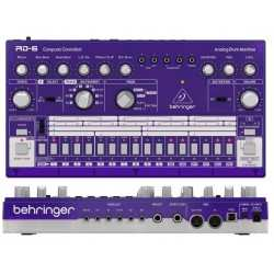 BEHRINGER RD-6-GP Analog Drum Machine - Purple Translucent