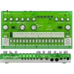 BEHRINGER RD-6-LM Analog Drum Machine - Green Translucent