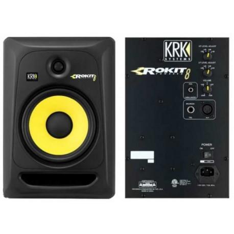 "KRK RP8 RoKit G3 Black monitor da studio attivo nero 8""/1"" 2 vie 100W"