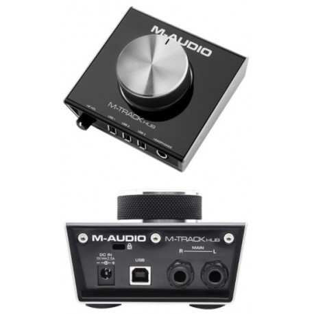 M-AUDIO M-TRACK HUB interfaffia audio usb con hub integrato