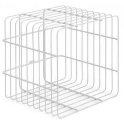 ZOMO Vs-rack Cube - mobile per vinili bianco
