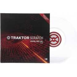 NATIVE INSTRUMENTS TRAKTOR SCRATCH CONTROL VINYL MKII CLEAR secondamano