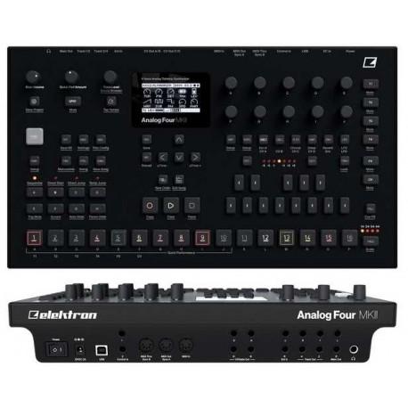 ELEKTRON Analog Four MKII Black sintetizzatore analogico a 8 voci nero