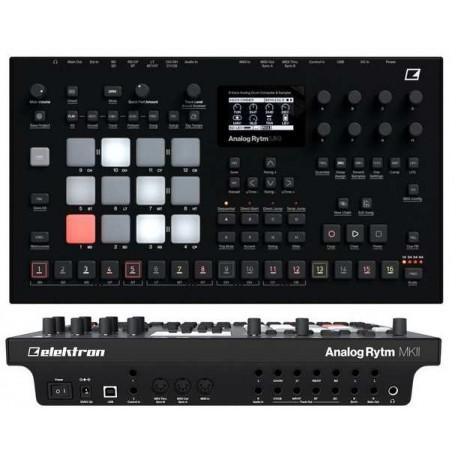ELEKTRON Analog Rytm MKII Black drum machine analogica nera