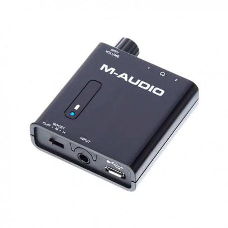 M-AUDIO Bass Traveler amplificatore portatile per cuffie